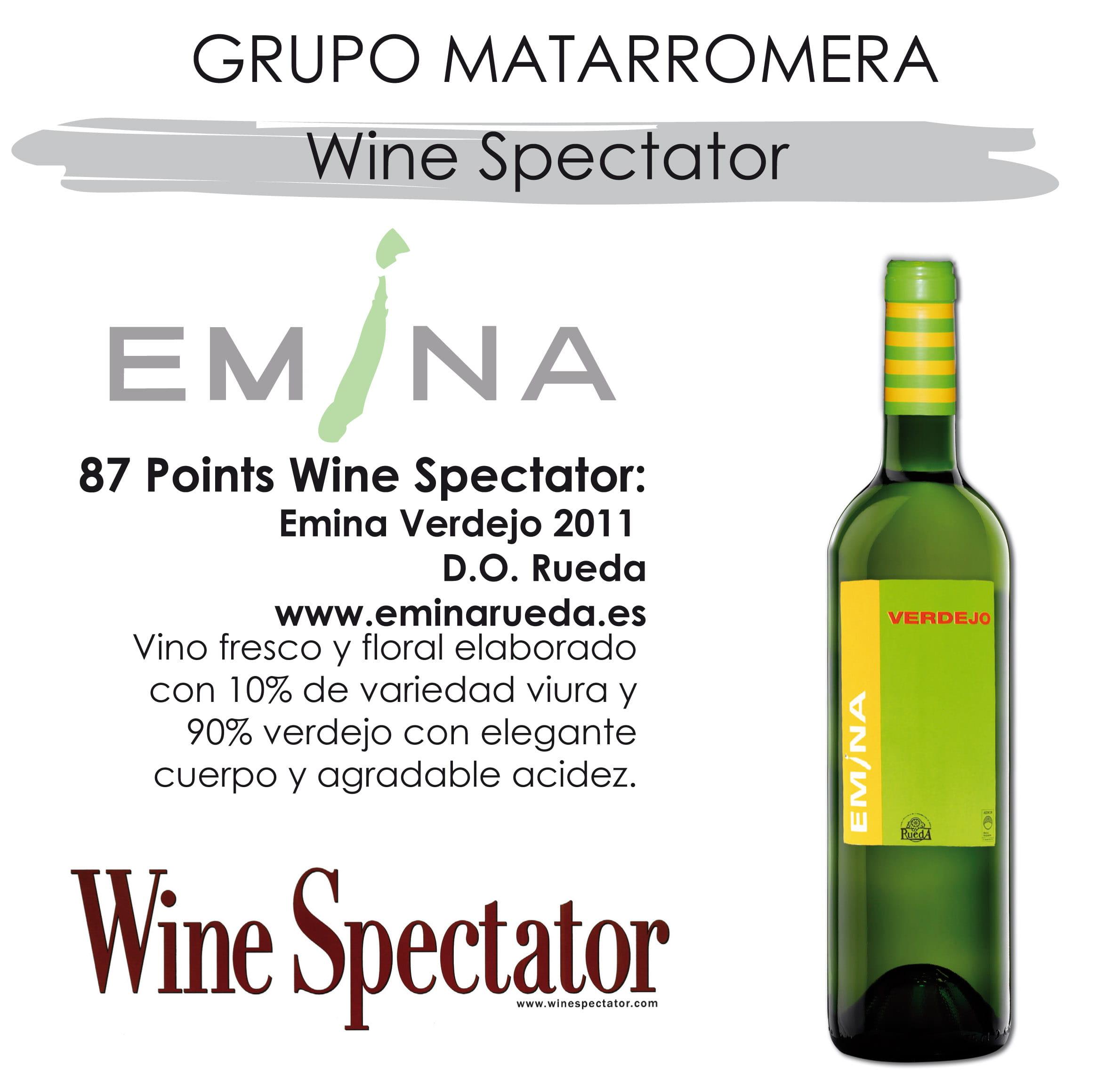 87 Points Wine Spectator