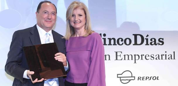 El Presidente de Grupo Matarromera recibe el premio 'Cinco Días' a la innovación