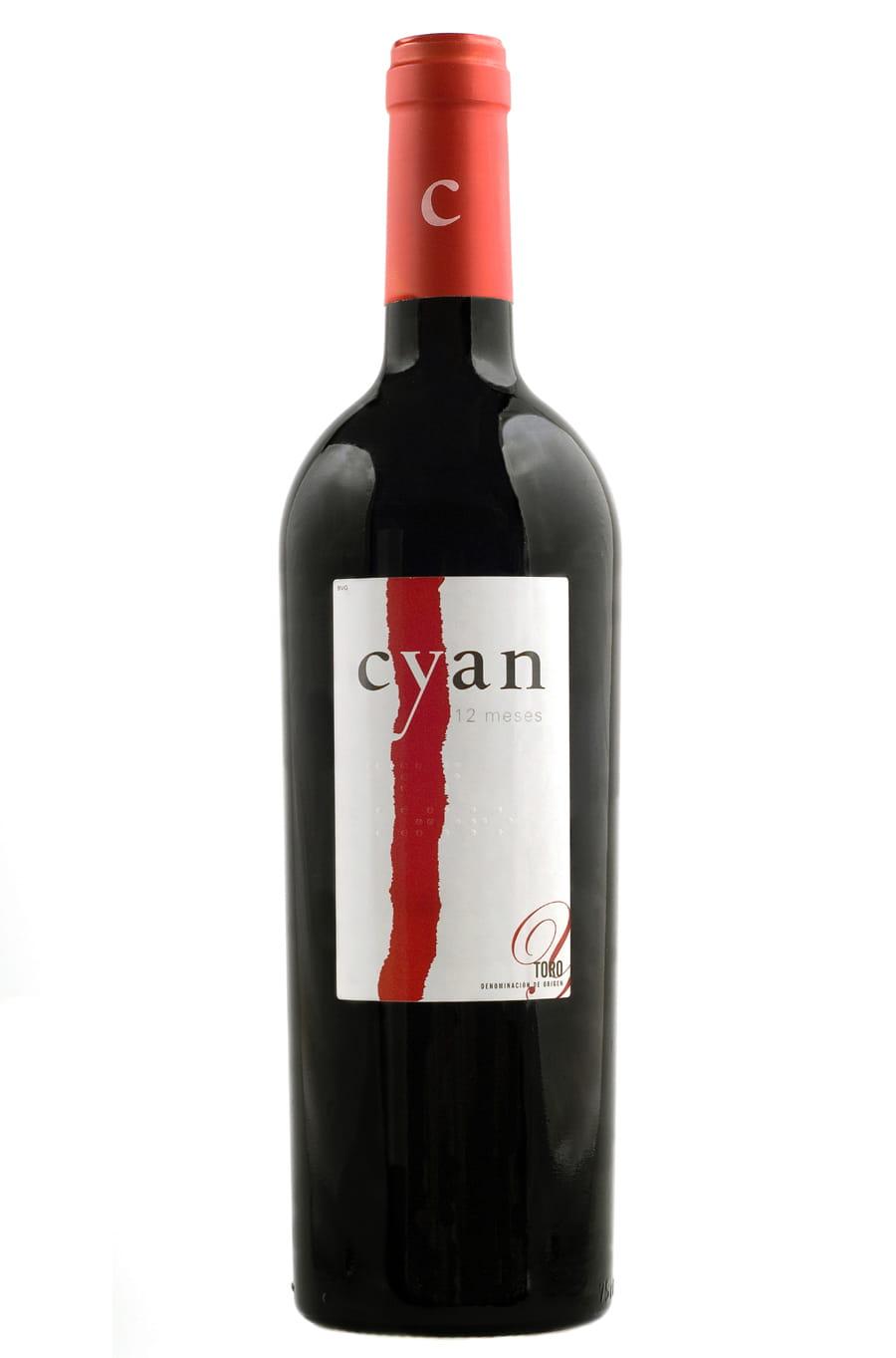 Cyan 12 meses 2004, BACCHUS DE ORO en el X Concurso Internacional de Vinos bacchus 2012