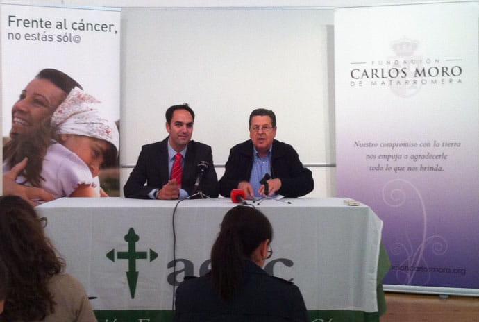 LA FCMM Y LA ASOCIACION ESPAÑOLA CONTRA EL CANCER SUSCRIBEN UN CONVENIO  DE COLABORACIÓN