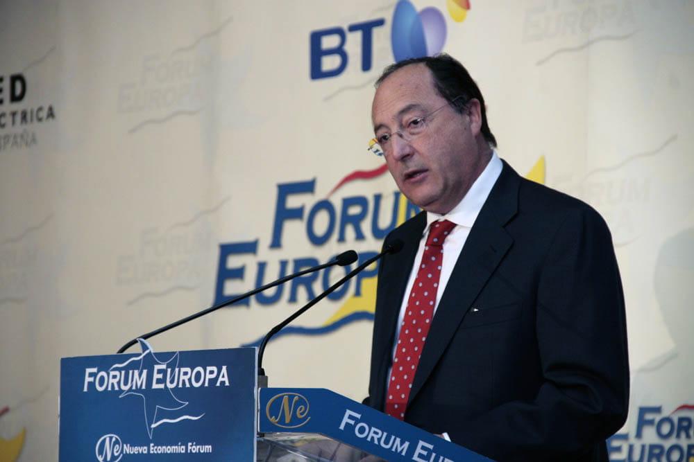 CARLOS MORO, PRESIDENTE DE GRUPO MATARROMERA, PROTAGONISTA EN FORUM EUROPA