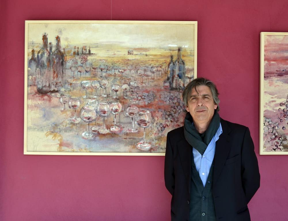 """LA BODEGA EMINA INAUGURA LA EXPOSICIÓN DEL ARTISTA CARLOS MONTESINOS """"TIERRA, UVA Y VINO"""""""