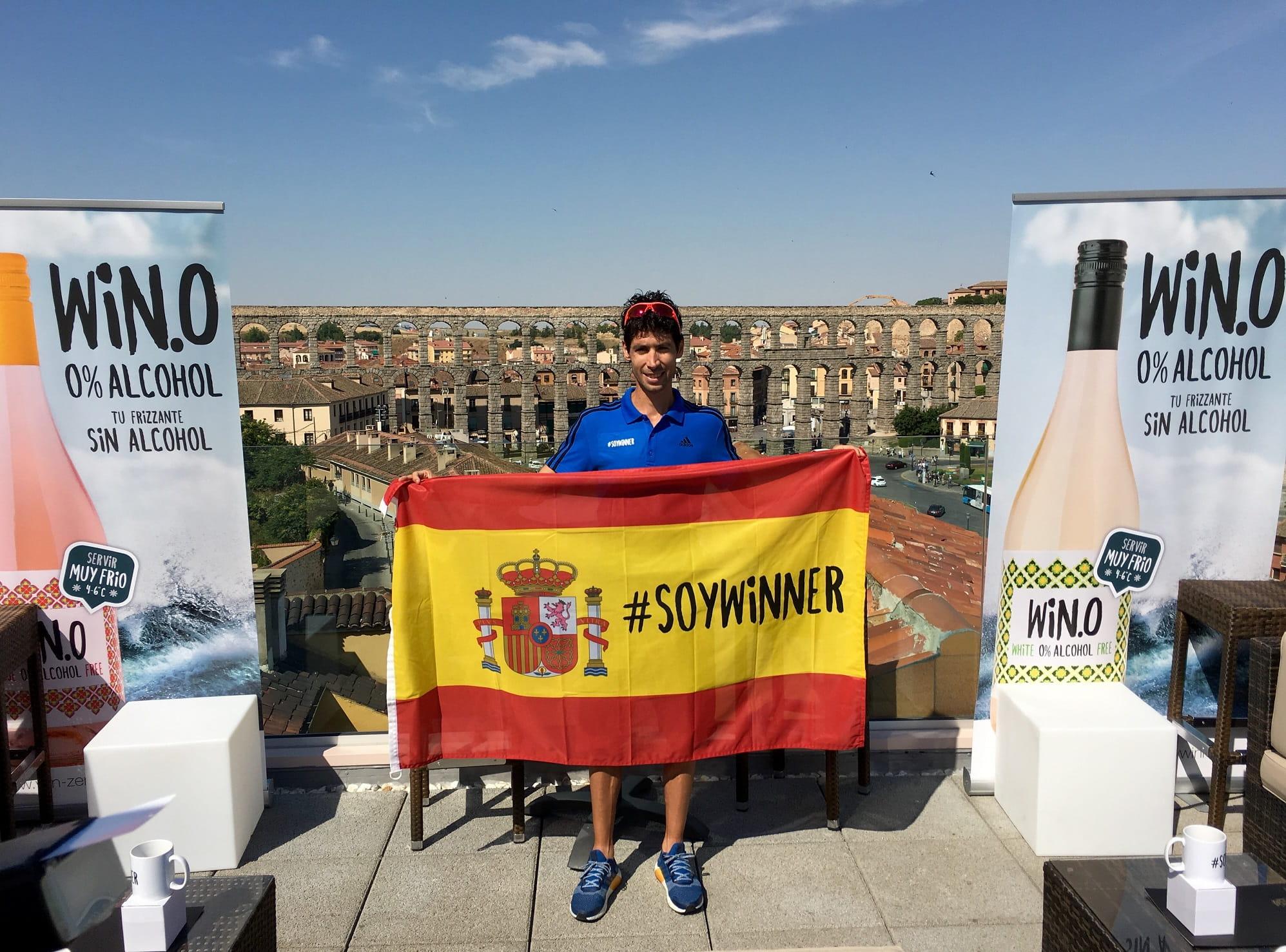 Javi Guerra será el embajador de Win, el vino sin alcohol, en los JJOO de Río