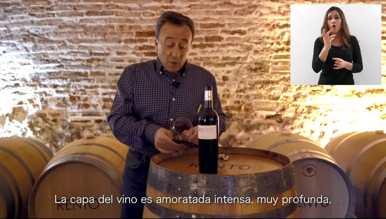 Fundación Carlos Moro de Matarromera pone en marcha catas y videocatas en lengua de signos