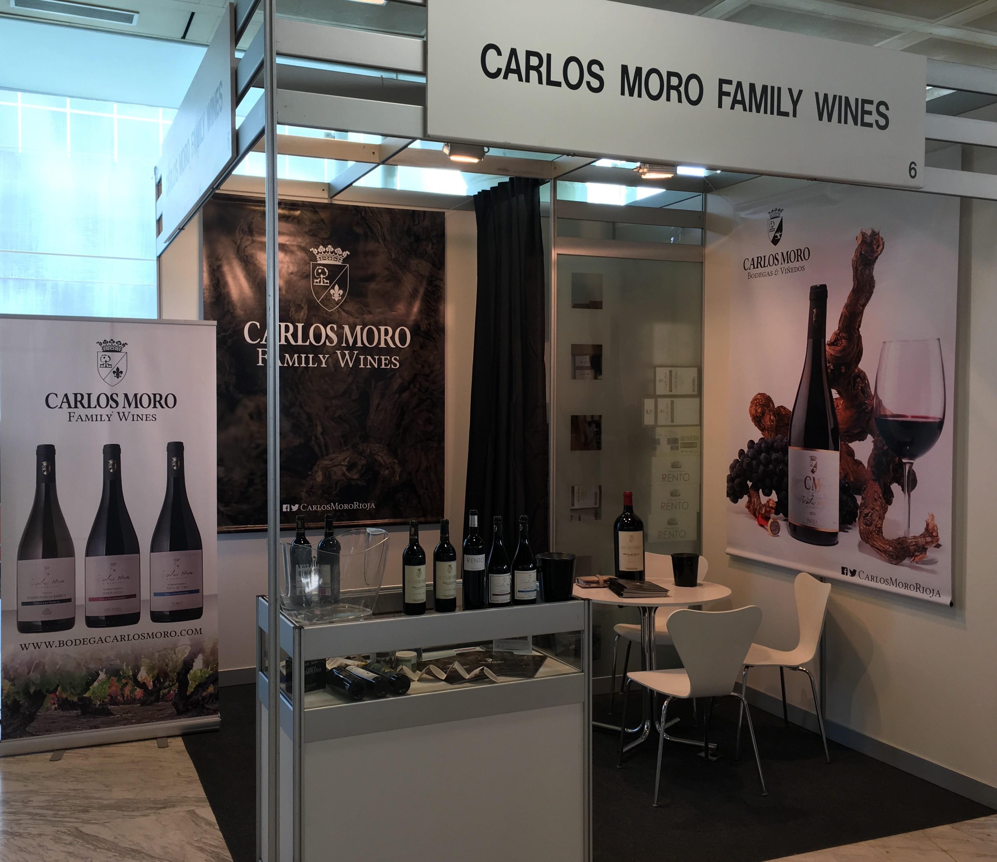 Los vinos de Carlos Moro Family Wines presentes por vez primera en Madrid Fusión