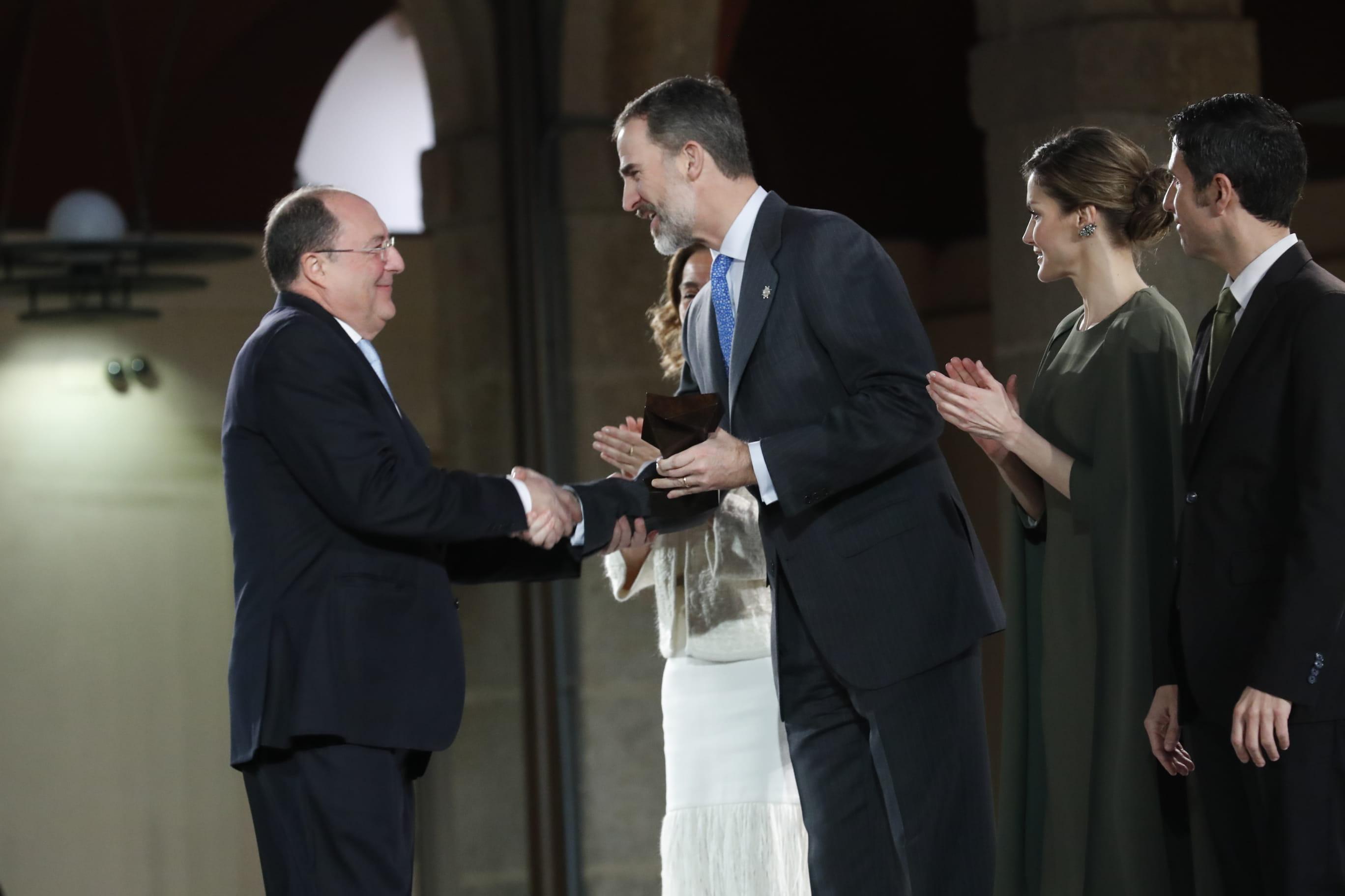Carlos Moro, presidente de Grupo Matarromera, condecorado hoy con el Premio Nacional de Innovación