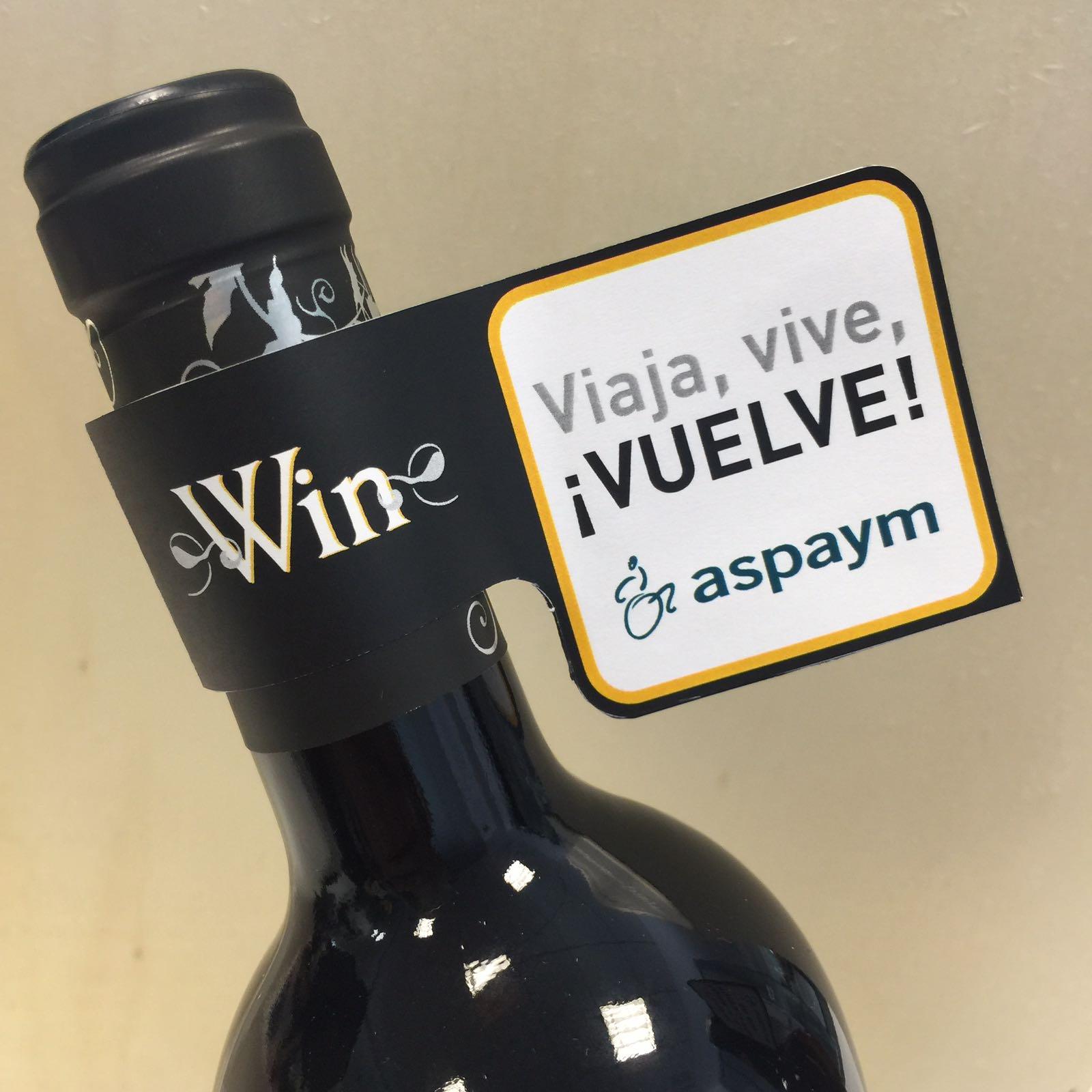 El vino sin alcohol WIN lanza con ASPAYM mensajes de prevención y concienciación sobre accidentes de tráfico