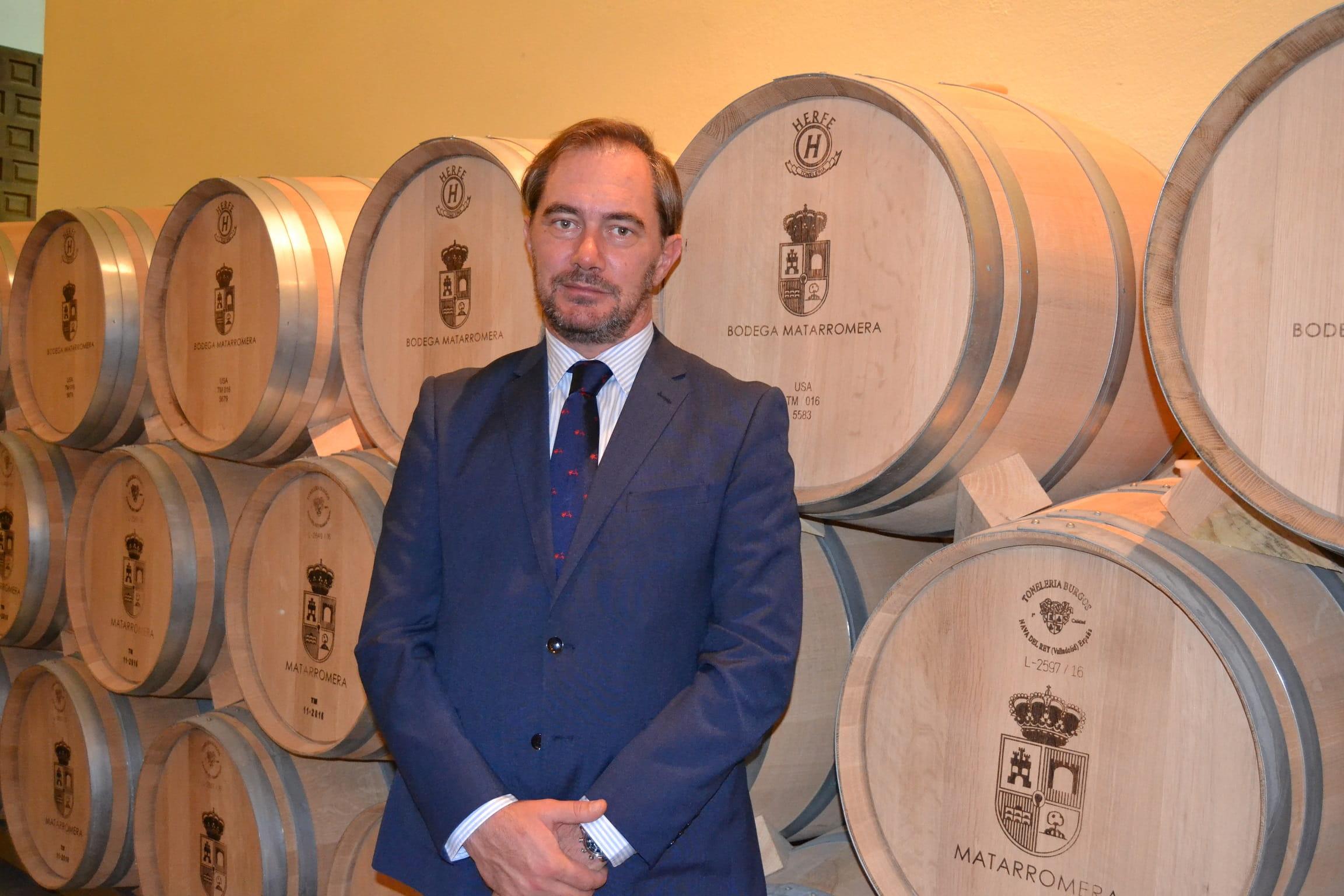 David de la Calle Armesto, nuevo Director General de Bodegas Familiares Matarromera