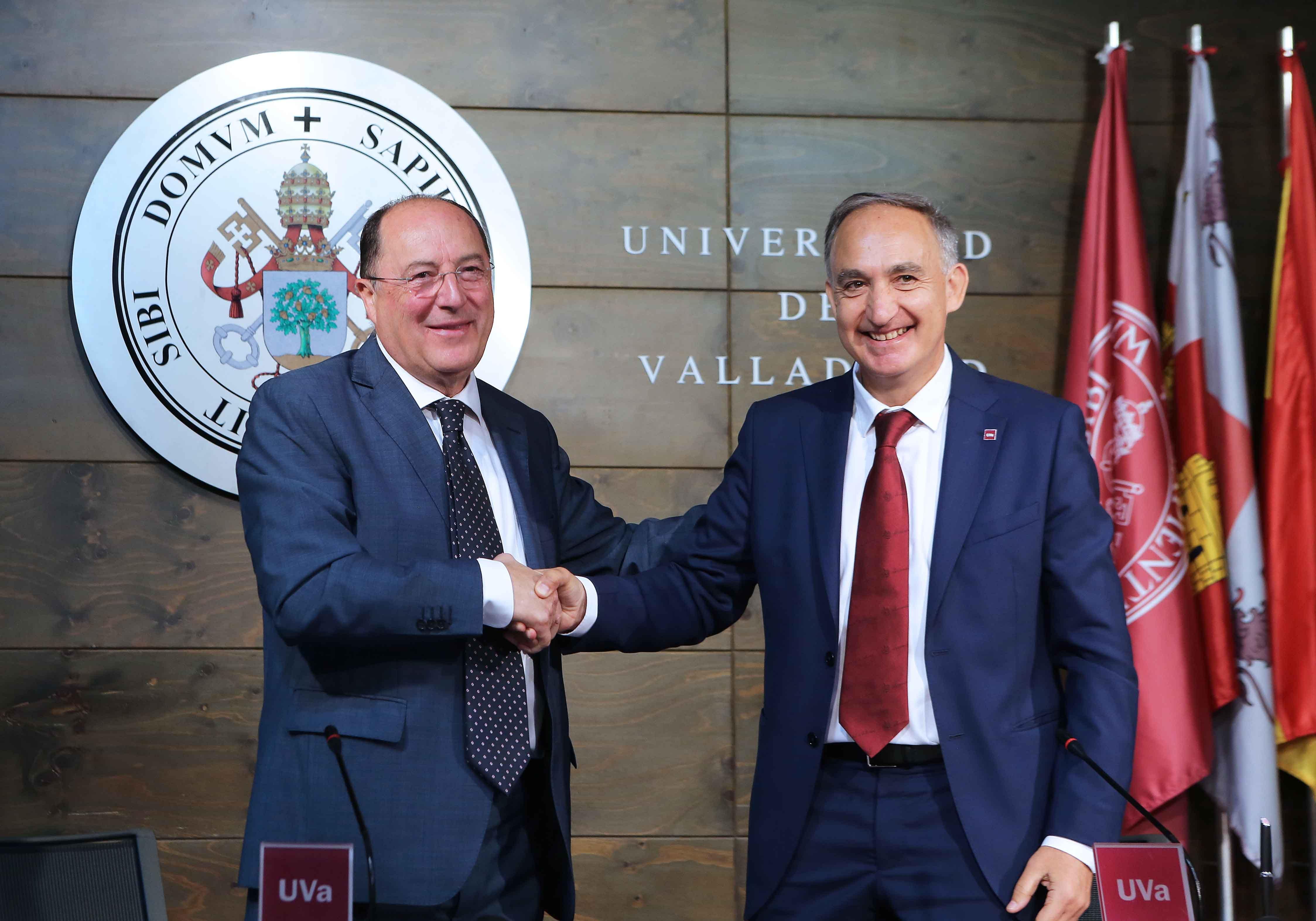 Matarromera y la Universidad de Valladolid firman un acuerdo para el desarrollo de proyectos innovadores