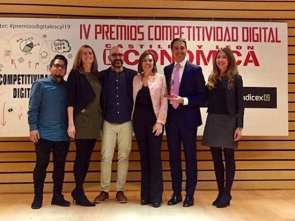 Bodegas Familiares Matarromera elegida Mejor Empresa en Medios Sociales en los IV Premios Competitividad Digital organizados por la revista Castilla y León Económica