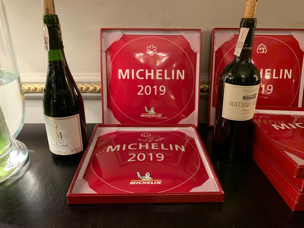 Presentes con nuestros vinos en la presentación de la Guía Michelin de Polonia