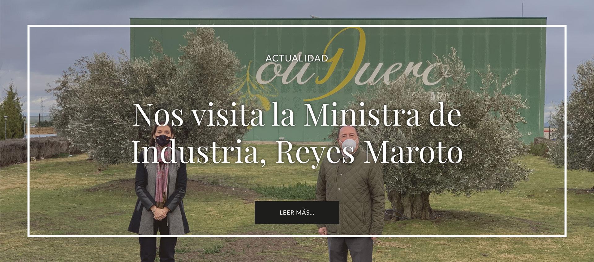 visita-ministra-industria-reyes-maroto-en-emina-rueda-almazara-oliduero