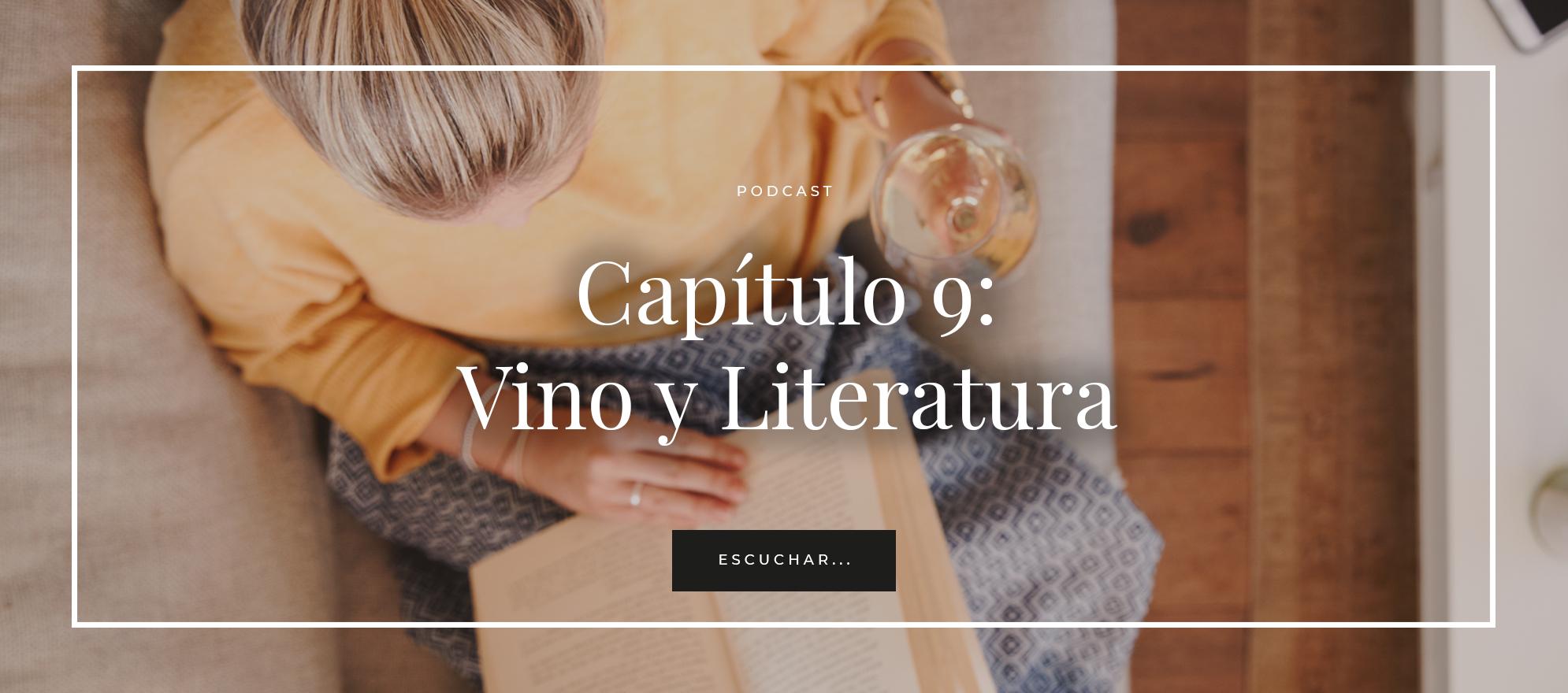 vino y literatura
